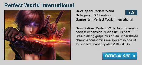 Perfect World International Genesis