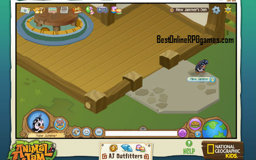 Animal jam new jammer's den