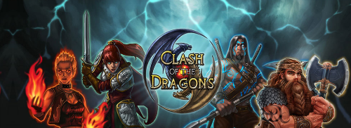 Play Clash of the Dragons, a free mmo online card game that let's you build a powerful deck and battle evil at BORPG.com