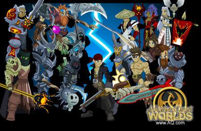 AdventureQuest Worlds game at BORPG.com