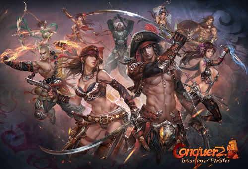 Conquer Online Game