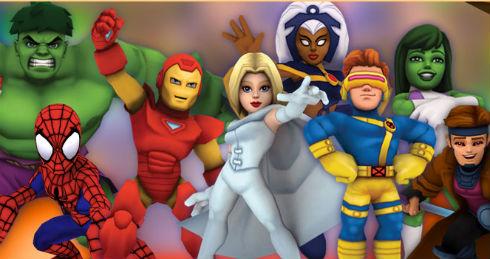 Super Hero Squad Online  at BORPG.com