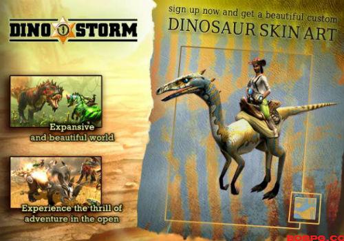 Dino Storm Game