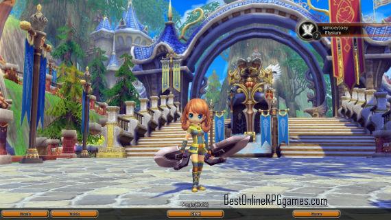 elysium city adventure in dragomon hunter