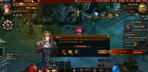 Felspire game review on Bestonlinerpggames.com screen 2