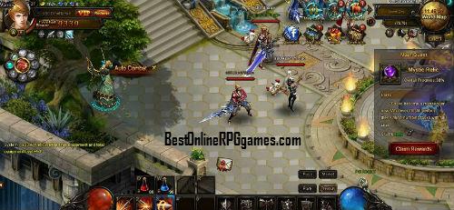 Felspire game review on Bestonlinerpggames.com screen 4
