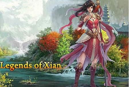 Legends of Xian Game