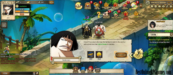 one piece online games