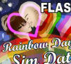 Rainbow Days Sim Date