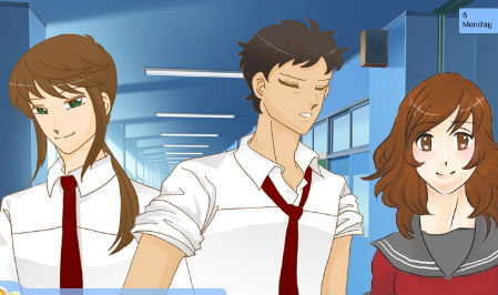 Adult summer dating sim