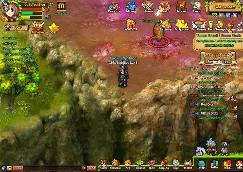 Tamer Saga  at BORPG.com