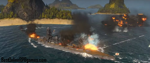 World of Warships game review on Bestonlinerpggames.com screen 2