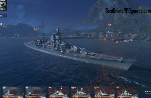 World of Warships game review on Bestonlinerpggames.com screen 3