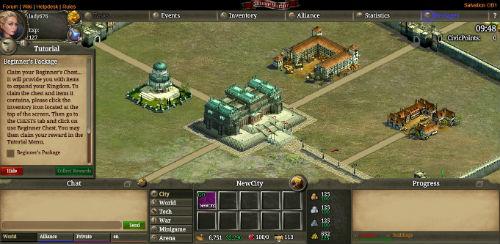 Alliance Warfare  war battle screen 2